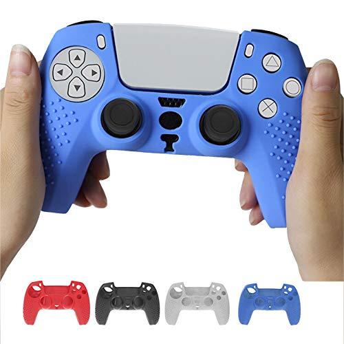 VESNIBA Controller Skin Zubehör Silikon Hülle für PS5 für Sony PlayStation 5 Soft Rubber Case Protector Kompatibel mit PS5