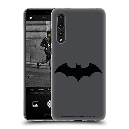 Official Batman DC Comics Hush Logos Soft Gel Case Compatible for Huawei P20 Pro
