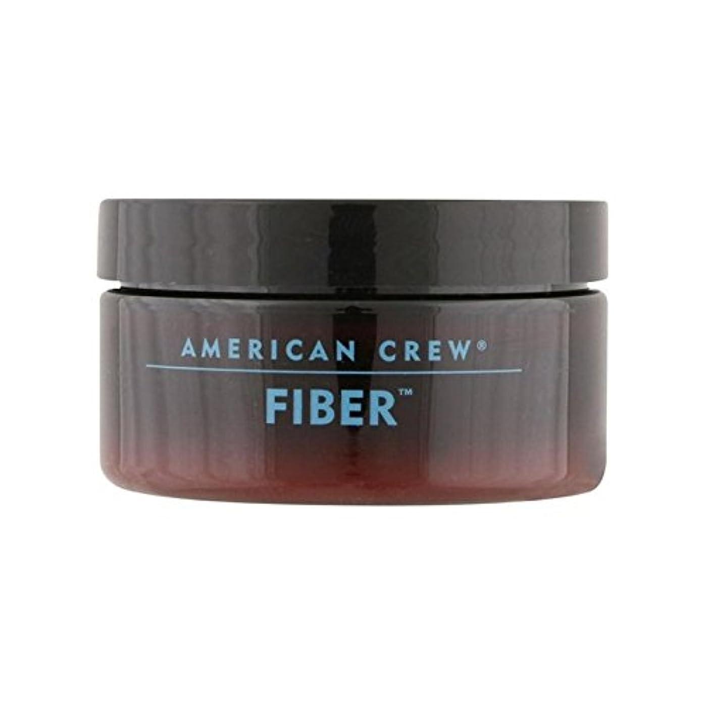 松明お茶落ち着いたアメリカンクルーファイバー(85グラム) x2 - American Crew Fiber (85G) (Pack of 2) [並行輸入品]
