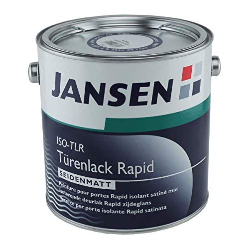 Jansen Türenlack ISO-TLR Rapid weiß 2, 5 Liter seidenmatt