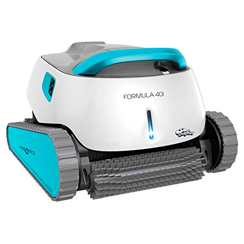 Poolaria Dolphin Formula 40i - Robot limpiafondos para Piscinas (Fondo, Paredes y línea de flotación)