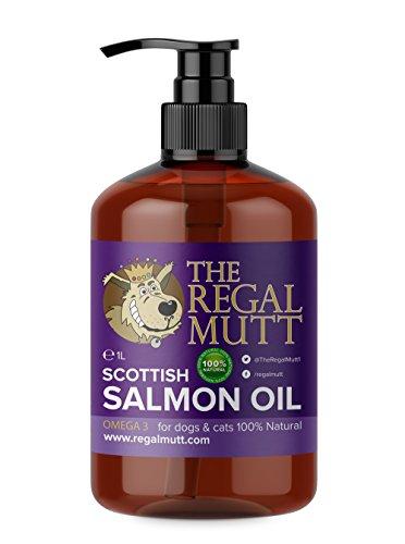 The Regal Mutt - Aceite de salmón para perros (1 litro)