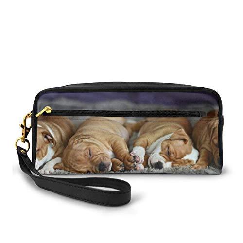 Yuanmeiju Baby Cute Puppy Dog Sleeping Sleep Makeup Bag Cosmetic Bag Mäppchen
