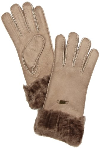 Emu Accessoires Damen Handschuh Apollo Bay Glove, Gr. 6.5 (XS/S), Beige (mushroom)
