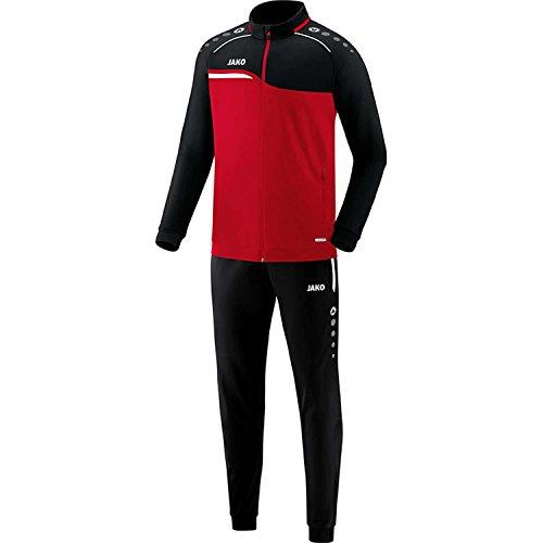 JAKO Herren Polyesteranzug Competition 2.0 9118 Rot/Schwarz XL