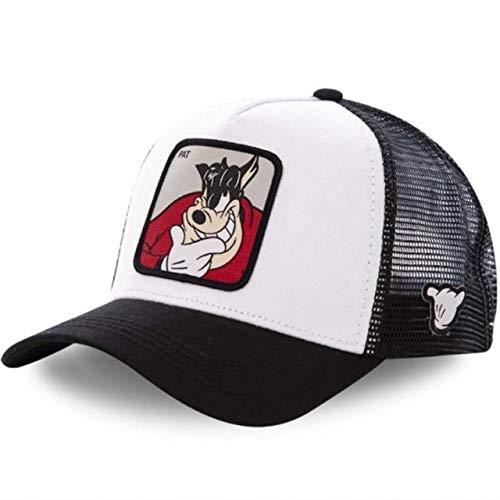 Nueva Gorra de bisbol de algodn Snapback para Hombres y Mujeres, Gorra de Camionero de Hip Hop para pap-Pat