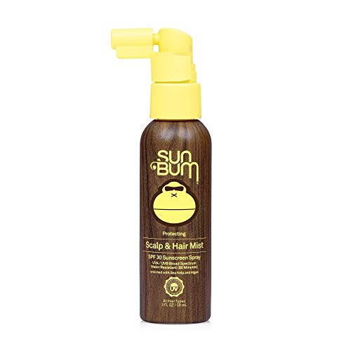 Sun Bum Original SPF 30 Sunscreen 2 Oz Scalp and Hair Mist (Vegan and Reef Friendly/Octinoxate Oxybenzone Free/Broad Spectrum/UVA/UVB Sunscreen Spray with Vitamin E), 1 Count, Pack of 6