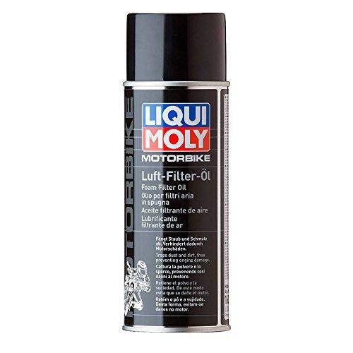 LIQUI MOLY 1604 Luft-Filter-Öl Spray für Motorräder, 400 ml
