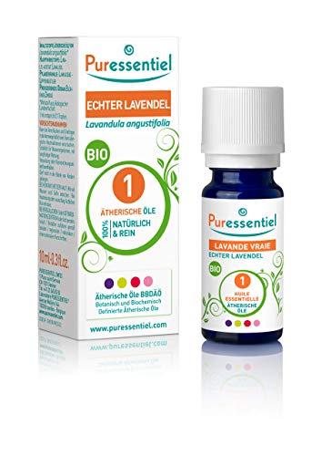 Puressentiel - Huile Essentielle Lavande Vraie - Bio - 100% pure et naturelle - HEBBD - 10 ml