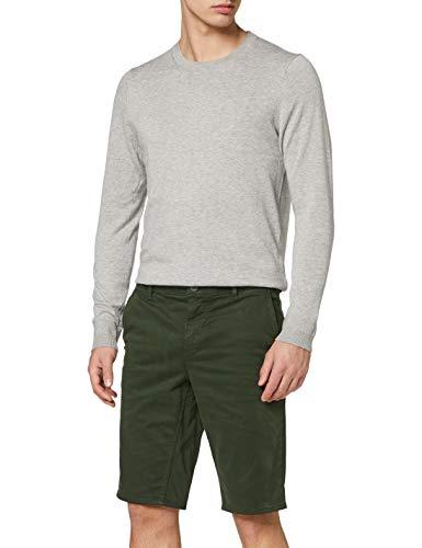 BOSS Herren Schino-Slim Shorts, Grün (Open Green 346), W(Herstellergröße: 38)