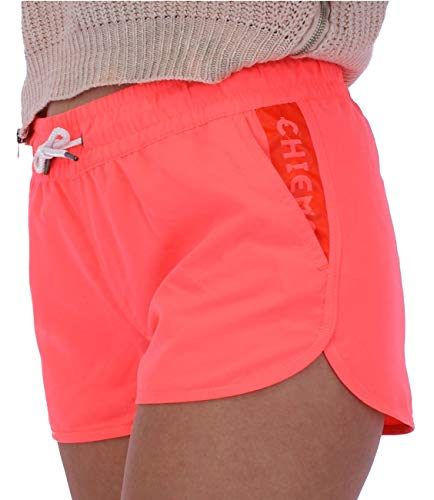 Chiemsee Damen Swimshorts, Neon Pink, XL