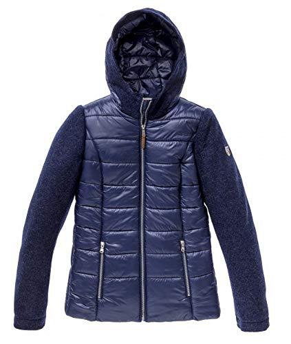 Dolomite Damen Jacke Dobbiaco - Wolljacke, blau, XL