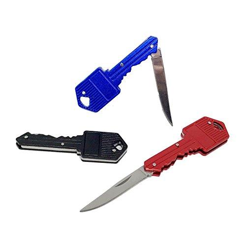 NF-Gadgets Schlüsselmesser (Schwarz)