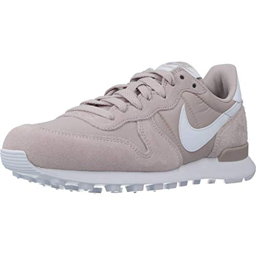Nike Damen Internationalist Sneaker, Platinum Violet/Blanco, 37.5 EU