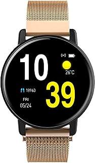Reloj Inteligente Resistente al agua Pulsera SmartWatch inteligente reloj de pulsera rastreador de ejercicios con los monitores de la presión de oxígeno en sangre del contador de paso Hombres Mujeres