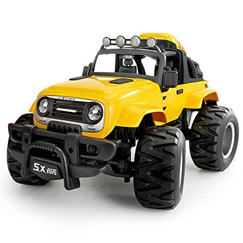 Gran control remoto Corrido inalámbrico Buggy Carga eléctrica con luces y resistente a la caída, todos los vehículos de terreno que escalan automóviles para niños, truco de automóvil de deriva carro d