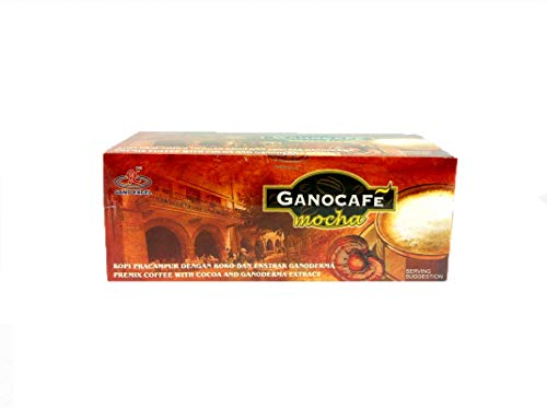 1 Box Gano Excel Cafe Mocha Coffee with FREE Hot Chocolate Sachets + Free Expedited Shipping By ConnieStore