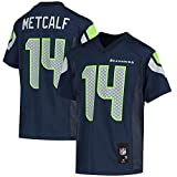 Outerstuff Youth DK Metcalf College Navy Seattle Seahawks Replica Player Jersey