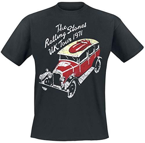 The Rolling Stones UK Tour 1971 T-shirt noir S