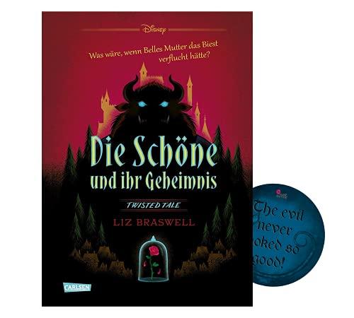 Buchspielbox Disney – Twisted Tales: La Bella y su secreto (La Bella y la Bestia) + pegatina Evil Sticker, Juvenil Roman para niños a partir de 12 años