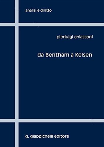Da Bentham a Kelsen. Sei capitoli per una storia della filosofia analitica del diritto