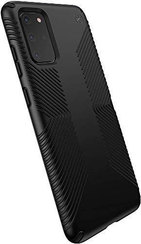 Speck Products Presidio Grip Samsung Galaxy S20+ Case, Black/Black, Model:136369-1050