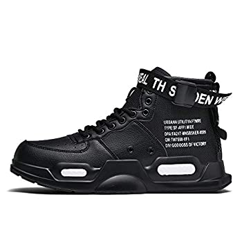 XIDISO Fashion Mens Women Sneakers High Top Walking Shoes Sport Athletic Casual Shoe for Men