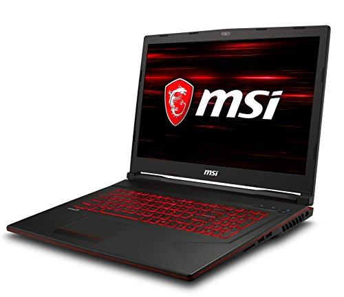 "MSI GL73 8RC-020XES - Ordenador portátil Gaming de 17.3"" Full HD (Coffeelake i7-8750H, 8GB RAM, 1TB HDD + 256GB SSD, Nvidia GeForce GTX 1050 4GB, Sin Sistema Op.) Teclado QWERTY Español"