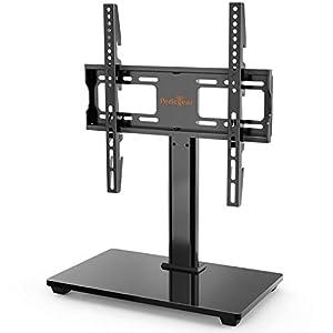 Soporte TV para Televisores de 32-55 Pulgadas - Soporte Giratorio de TV Ajustable en Altura, VESA máx. 400x400 mm, admite hasta 40 kg