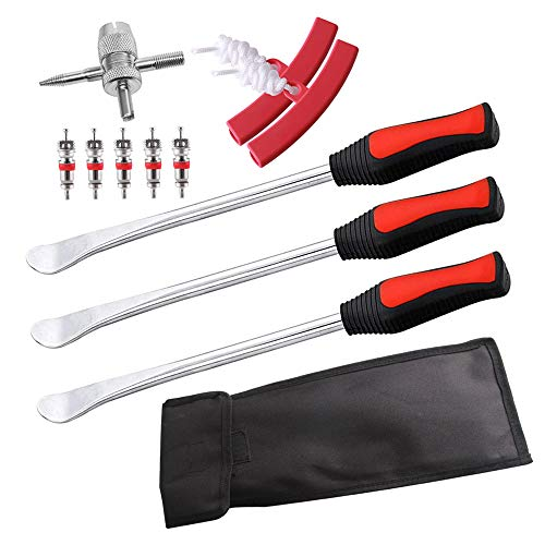 IWILCS Reifenheber Reifen, 3 Stück Montiereisen, Montierhebel Werkzeug, Tire Spoons Lever, Reifen Löffel,...