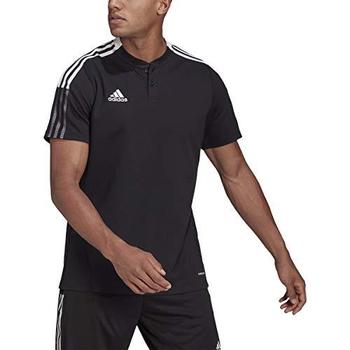 adidas Tiro 21 Polo - Men's Soccer S Black