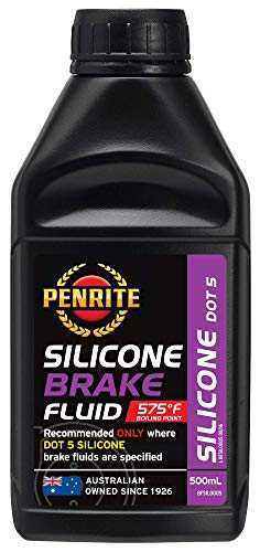 Penrite Öl Silikon Bremsflüssigkeit DOT 5 Dry Siedepunkt 302 Grad 500ml