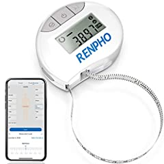 Smart Tape Measure. If you want your body measurements progress showing for graphing over time, this is the best Smart Body Measuring Tape for you; complete with fully integrated Renpho App connectivity. Easy to Read. Reading the small numbers and li...