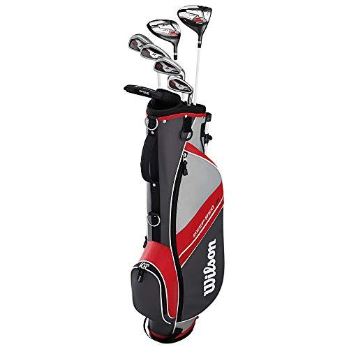 WILSON ProStaff Deep Red Premium Kinder Junior Golfset 11-14 Jahre Modell 2020