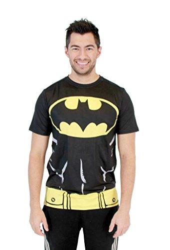 DC Comics Batman Men's Performance Compression Athletic Costume...