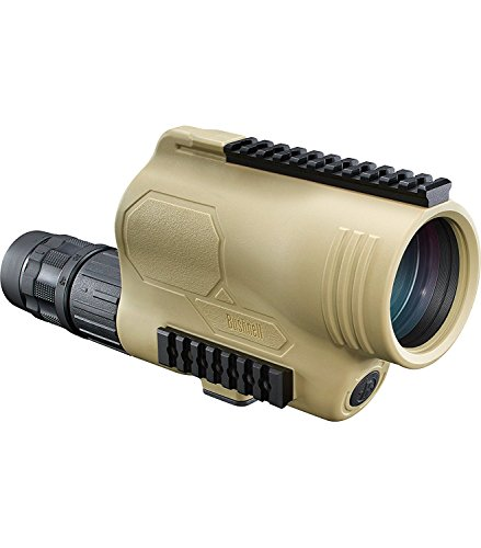Bushnell 781545ED Legend T-Series Flp Spotting Scope with Mil-Hash Reticle, 15-45 x 60mm, Tan