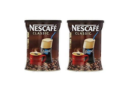 2x 200g Nescafe Frappe Classic Spar Doppel Pack griechischer Eis Kaffee Greek Coffee 2 Dosen + Probiersachet Olivenöl 10ml von Kreta