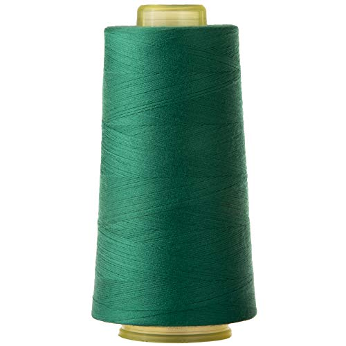 Polyester Quilting Thread for Sewing Machine All Purpose Sewing Thread Cone for Serger Overlock Merrow Single Needle 3000 Yards Each