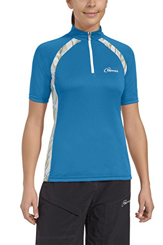 Gonso Damen Bike Shirt Hanna, Blue Danube, 38, 44302
