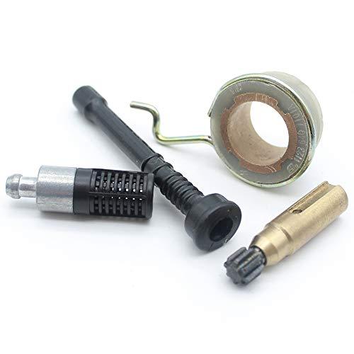MQEIANG Kit de Manguera de Aceite Engranaje de la Bomba de Aceite para stihl 025 023 021 MS250 MS230 MS210 Piezas de Repuesto de Motos 323 640 3800