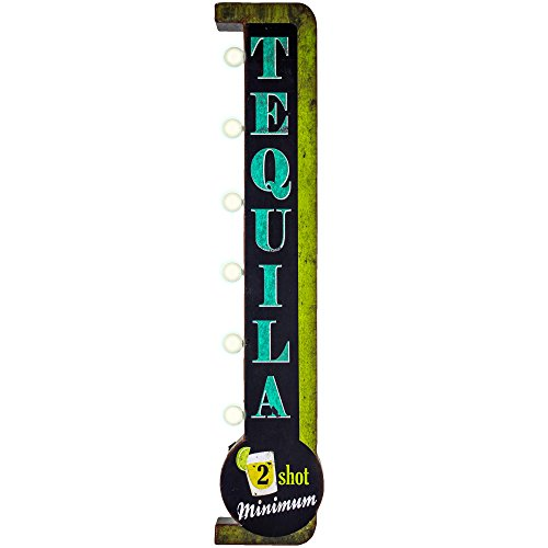 Vintage Tequila LED Marquee for Man Cave