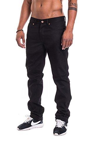 Rocawear Herren Jeans Relaxed FIT R00J9911B Black Od 851, Hosengröße:30