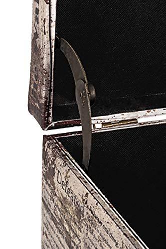 HAKU Möbel Sitztruhe, vintage_1, 65x40x42cm - 3