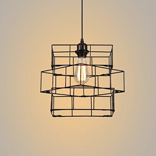 Hanglampen, hanglampen, kroonluchter, industriële lampen, creatieve wijnoogst-balkon-klompen, kledingzaken, smeedijzer-lamp, persoonlijkheids- woonkamer-eetkamer-slaapkamer-ei