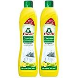 2x Frosch Zitronen Scheuermilch 500 ml - Reinigt Bad und Kche kraftvoll