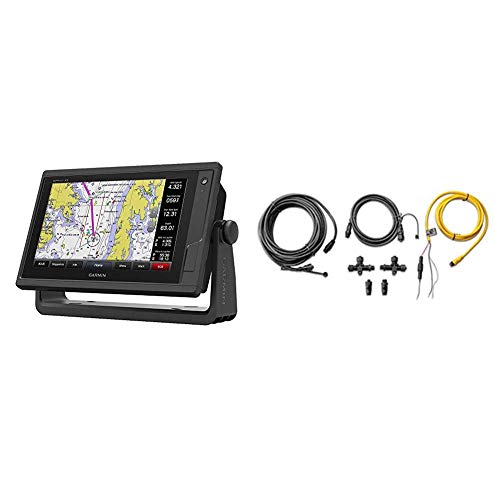 Best Review Of Garmin GPSMAP 942xs, ClearVu and Traditional Chirp Sonar with Mapping, 9, 010-01739-...