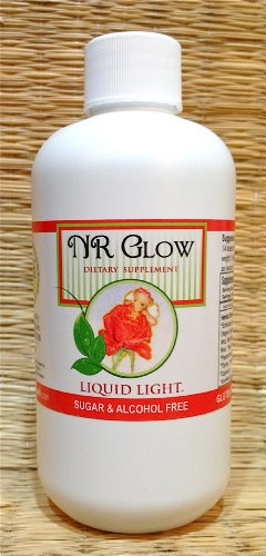NR Glow (8 oz Bottle) - Cold Season Help with Immune, Eczema Support.