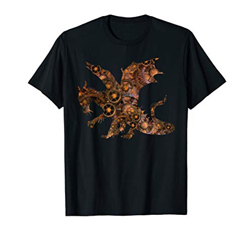 Unisex Steampunk Drachen shirt