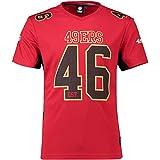 Fanatics San Francisco 49ers T Shirt NFL Fanshirt Jersey American Football Rot - M