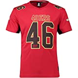 Fanatics Majestic San Francisco 49ers T Shirt NFL Fanshirt Jersey American Football Rot - XL